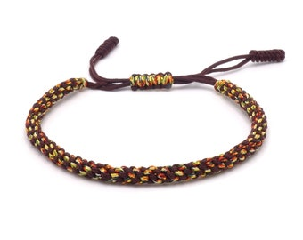 Tibet Armband - Umbrella Brown