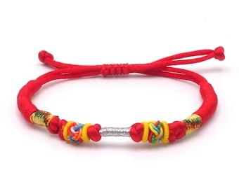 Tibet Armband - Ethnic Rot
