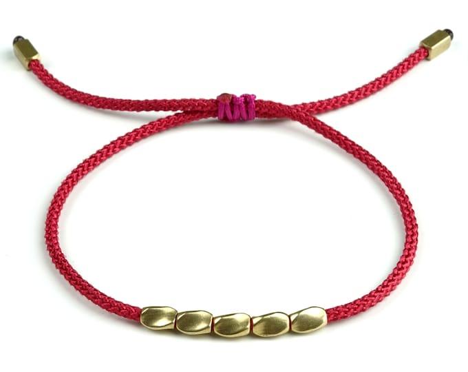 Tibet Armband - Friends Rot