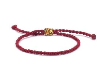 Tibet Armband - Move Dunkelrot