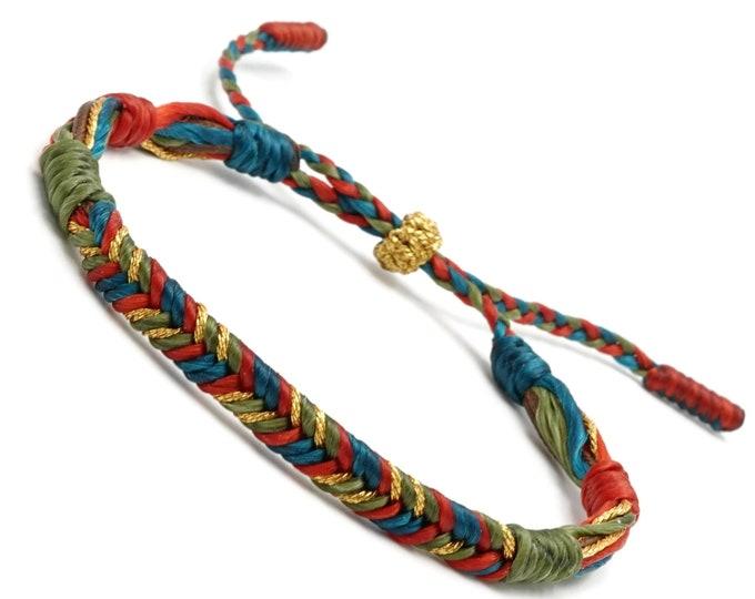 Tibet Armband - Bunt
