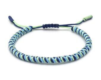 Tibet Armband - Surf Blau
