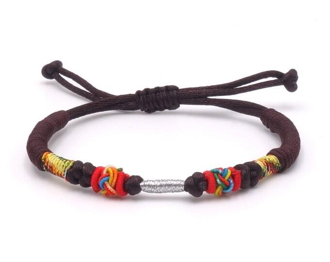 Tibet Armband - Ethnic Braun