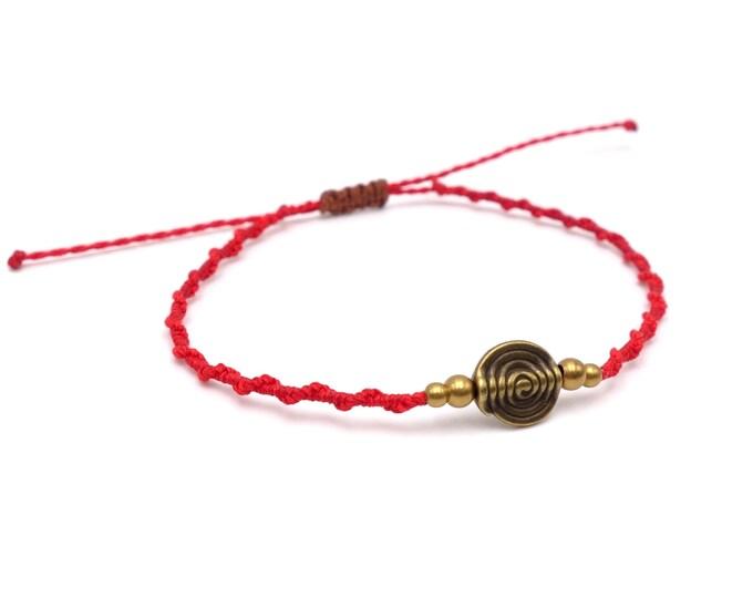 Tibet Armband - Copper Rot