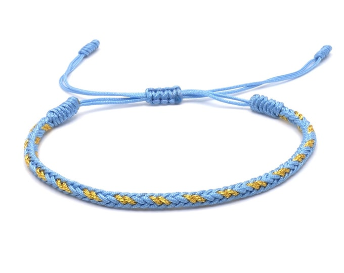 Tibet Armband - Style Blue