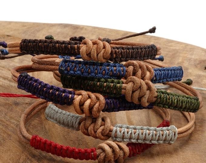 Tibet Armband - Leather Set
