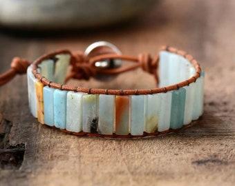 BOHO Armband - Achat Blau
