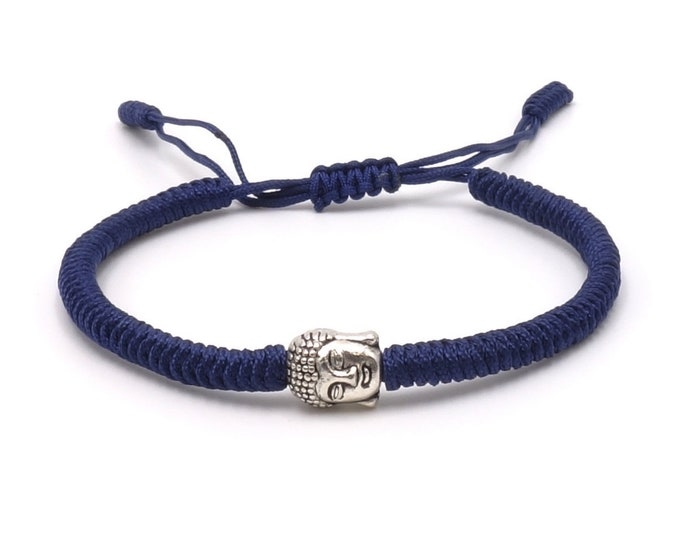 Buddha Armband - Blue