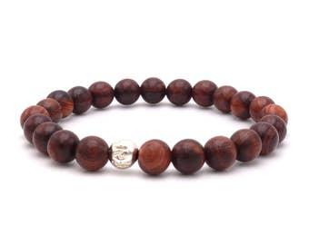 Armband aus Sandelholz Perlen