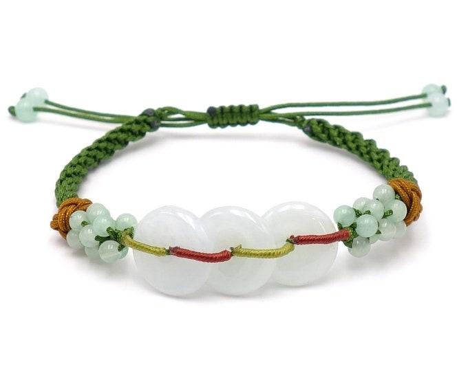 Tibet Armband - Amazonit Grün