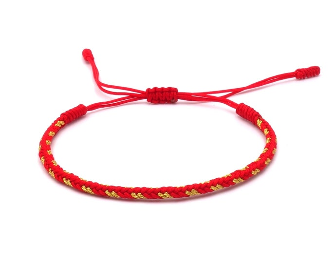 Tibet Armband - Style Red