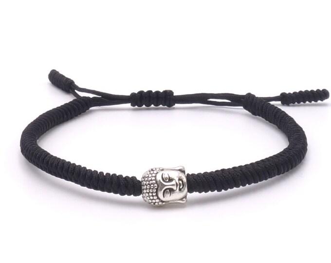 Buddha Armband - Black
