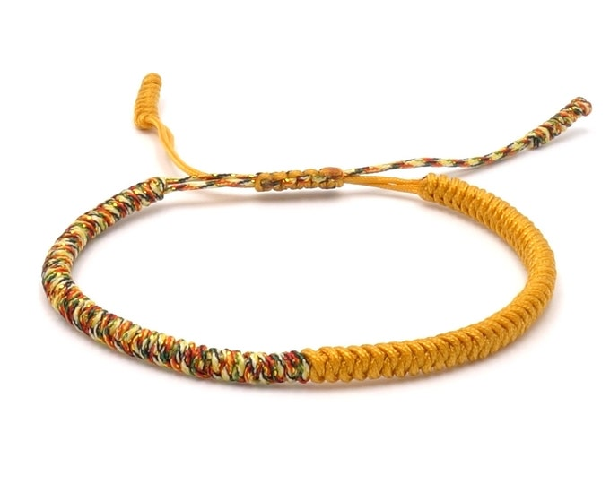 Tibet Armband - Rainbow Yellow
