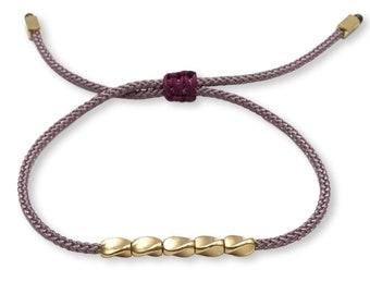 Tibet Armband - Friends Lila Violett