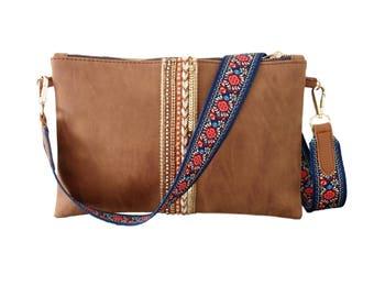 Clutch Bag-messenger bag-pocket belt