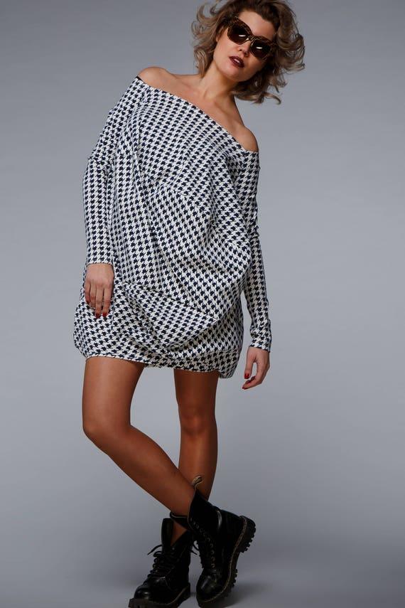 Asymmetrical Dress Plus Size Women Dress Plus Size Tunic Etsy