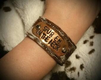 Spur em in the Neck! Bracelet