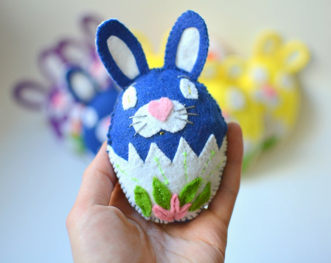 Featured listing image: Easter catnip cat toys made from felt, stuffed with organic catnip-valerian & polyester wadding