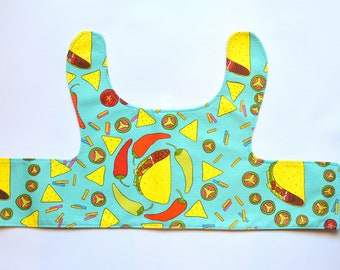 Cat harness / Taco cat, dog walking jacket / Cute walking costume for pet cat / Walking jacket harness for cat/ tacos, peppers