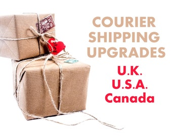 Shipping upgrades - U.S.A. - Canada - U.K.