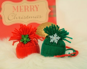 Hats for pets / Christmas hat for cat or dog /Cat Costume Accessories /Cute gifts & decorations /Stocking fillers /Cats, Kittens