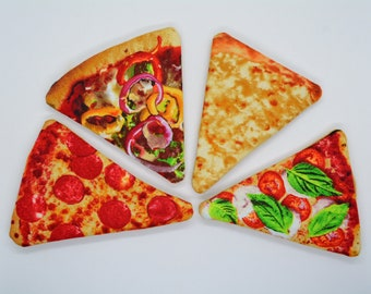 Pizza catnip toys // Unique catnip cat toy,cute cat toys,catnip toy,felt catnip toy,Crafts4cats