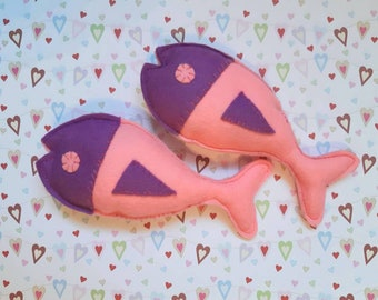 Fish catnip cat toy //Tuna Fish// Unique catnip cat toy,cute cat toys,catnip toy, toys for cat, stocking filler catnip toy, Crafts4cats