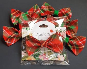 Bow tie 'Hamish' tartan cat bow tie// cat collar bow tie,cat collar with bow,christmas bow tie,plaid bow tie,pet bow tie,bow tie for cats
