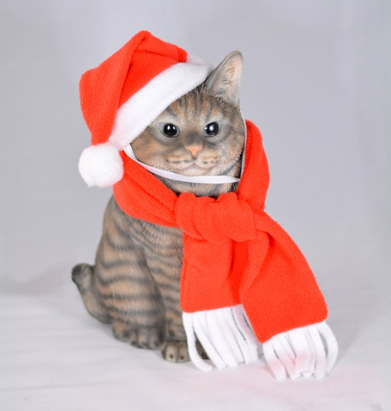 Christmas Elf Hat Scarf Hats For Cats Hats For Dogs Elf Etsy