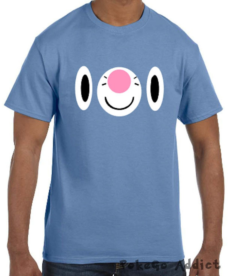 b973e5c3 Popplio Face Pokemon Go Cosplay Parody T-Shirt Sizes YXS | Etsy