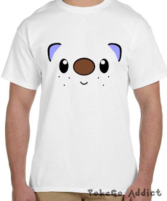 760bac53 Oshawott Face Pokemon Go Cosplay Parody T-Shirt Sizes 2T | Etsy