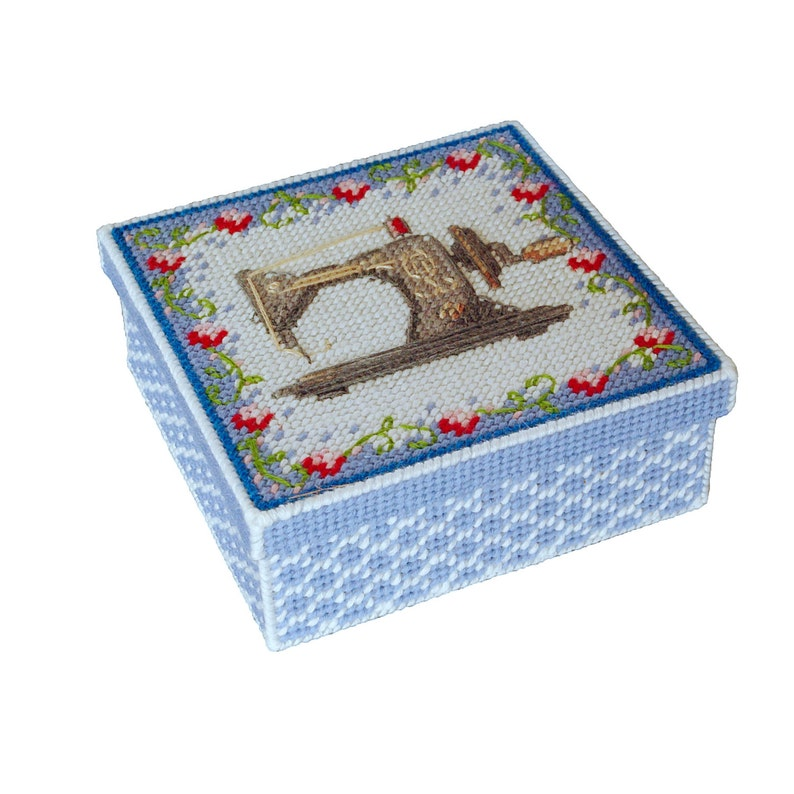 photo relating to Free Printable Plastic Canvas Tissue Box Patterns titled BOX plastic canvas behaviors cost-free, tissue box cross sch printable habit for plastic canvas pdf styles sewing box embroidery box behavior