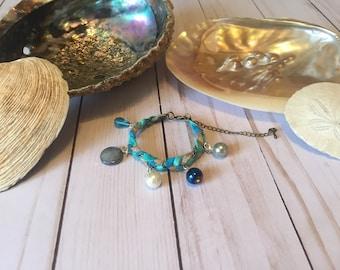 Mermaid Trinket Charm Bracelet #5