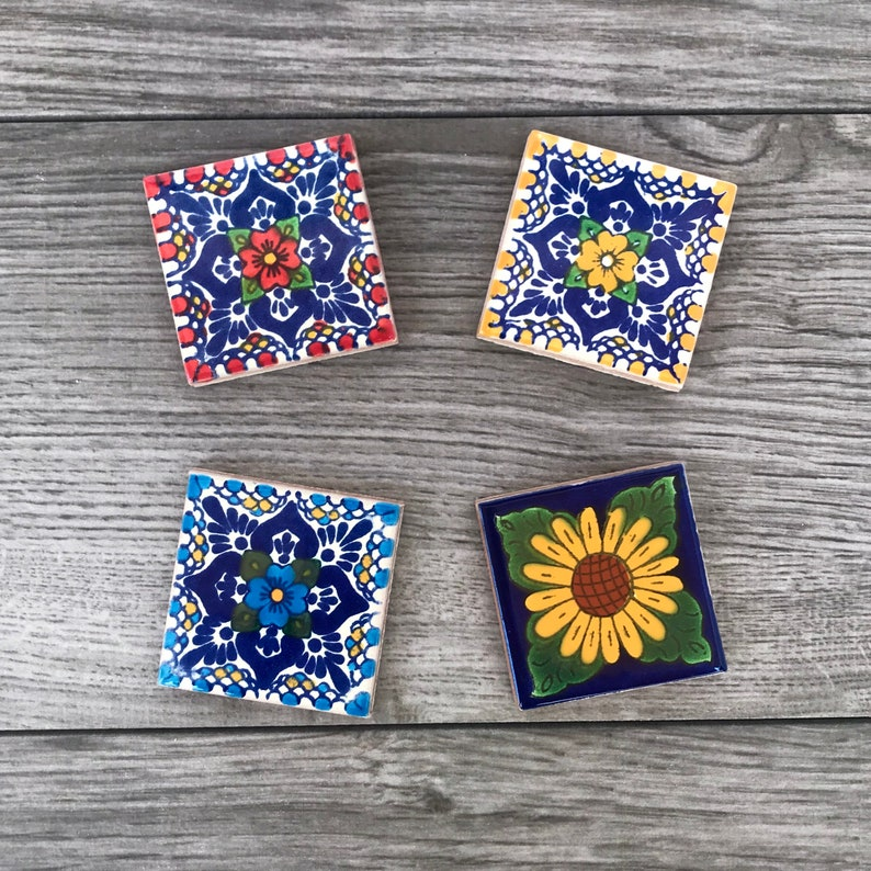 Mexican Tile Magnets image 1