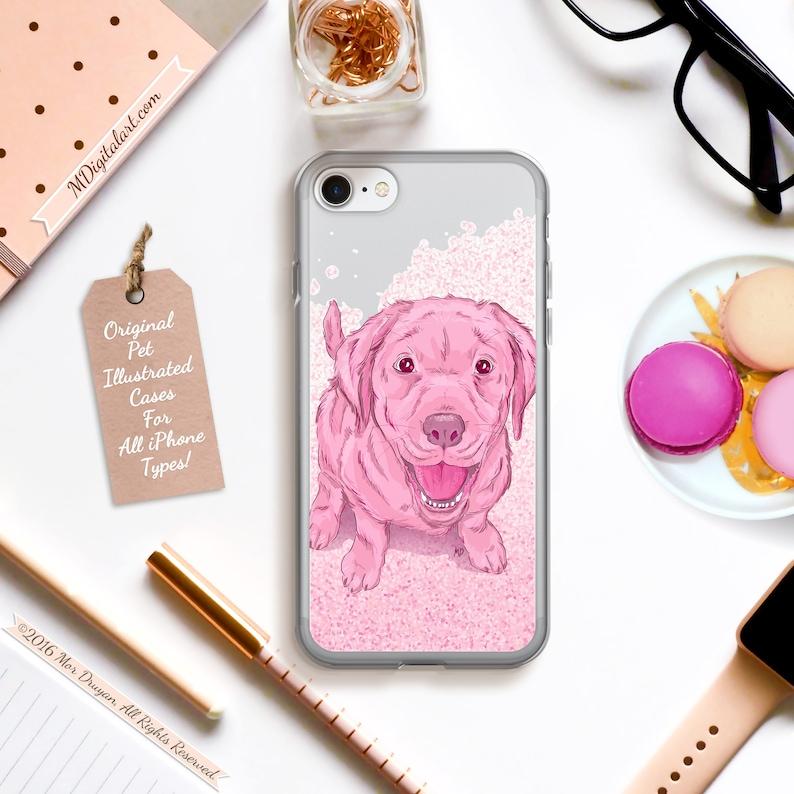 Sweet Labrador Retriever Colorful Designed Case For iPhone 6s image 0