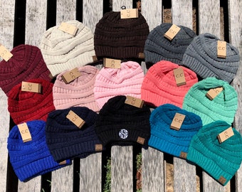 4cf9670dcf2 CC Beanie Monogrammed All Colors Monogram CC Beanie