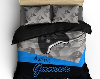 Gamer Bedding Etsy