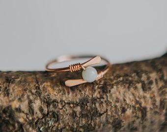 ROSE Gold Fidget Ring