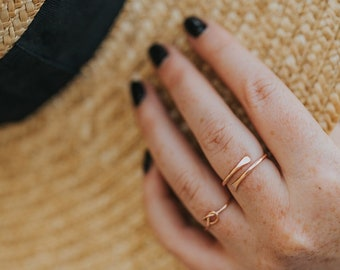 Knot Ring, Knotted Ring, Gold Ring, Stacking ring, Stackable ring, Best friend gift, Gifts for her