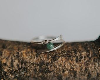 STERLING Silver Fidget Ring