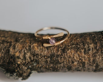 GOLD Fidget Ring