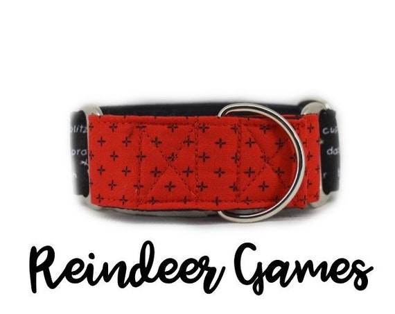 Reindeer Games Martingale Collar