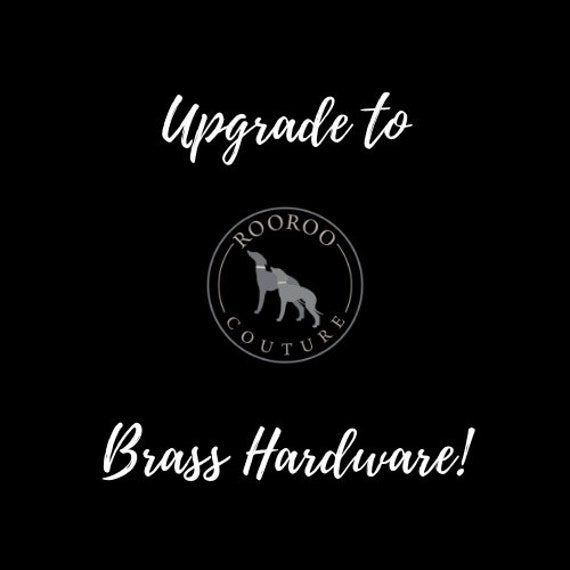 Collar Add-On: Upgrade to Solid Brass Hardware
