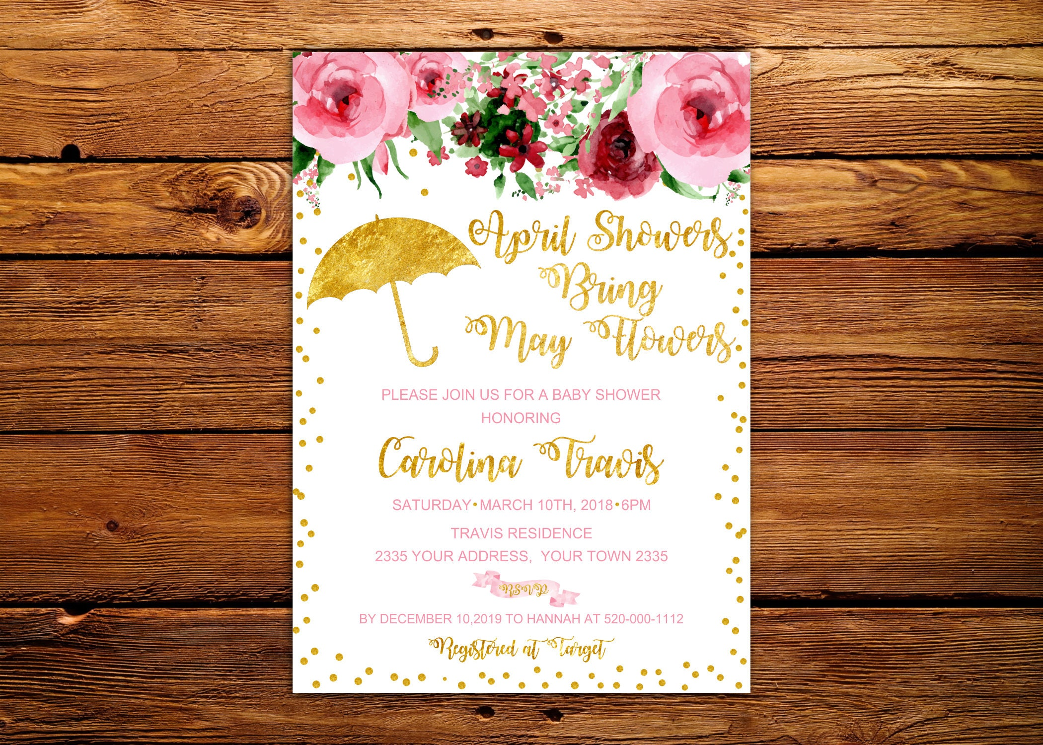 April showers bring may flowers baby shower invitation etsy zoom filmwisefo