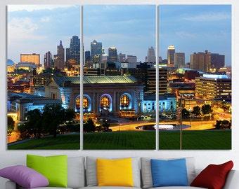 609297065121 Canvas Set of Kansas City