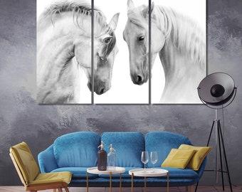 Crazy Horse Art Print//Canvas Home Decor Wall Art Poster D