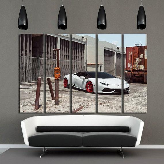 Sports Cars Large Canvas Print Super Sports Cars Wall Art | Etsy