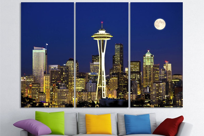 Seattle Art Wall Decor