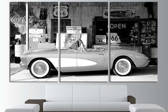 Old Cars Wall Art Old Mobile Poster Vintage Cars Canvas Wall   Etsy