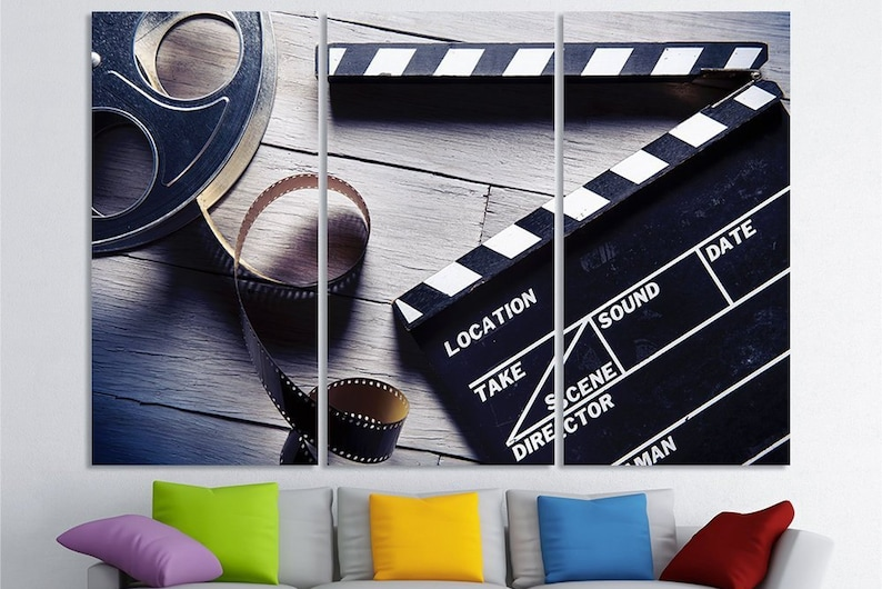 Movie Wall Art Canvas Decor Home